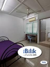Room Rental in Selangor - Zero Deposit ⚡ Middle Room SS15, Subang Jaya Nearby  SS15 LRT Station