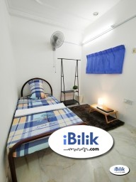 Room Rental in Petaling Jaya - ⚡ Zero Deposit ⚡ Single Room for Rent at BU2, Can be Walking distance MRT Bandar Utama