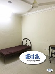 Room Rental in Selangor - 🤩 Zero Deposit 🤩 Single Room at Anggerik Tainia, Kota Kemuning, Shah Alam with High Speed WIFi