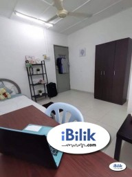 Room Rental in Malaysia - Available now Zero Deposit Only. Medium Room for rent!