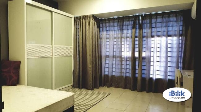 For Rent [FREE utility]- serdang- {FURNISHED}- Desa Saujana- the mines- South City- Sg Besi