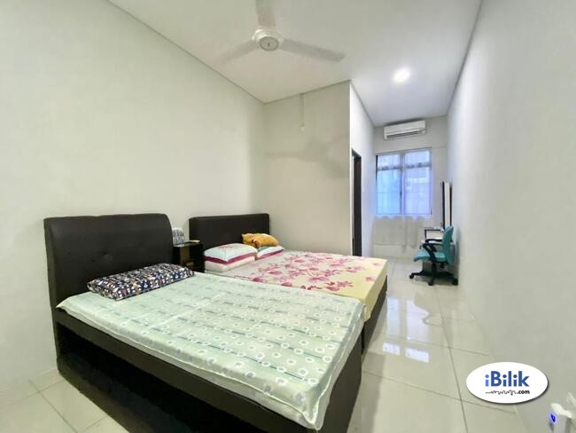 {serdang} room rent Seri Kembangan- Bandar Putra Permai- furnished- Equine Park