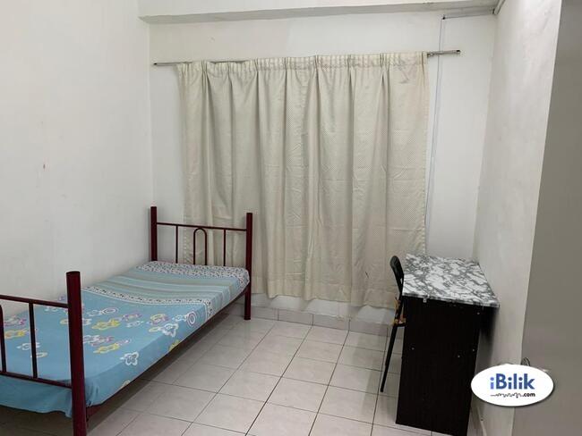 intimate [SERDANG]- room rent Seri Kembangan- {FURNISHED}- South City- One South- The Mines