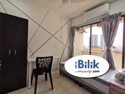Room Rental in Petaling Jaya - 【FREE WiFi Utilities 包水电】( 1 Month Security Deposit ONLY )  Balcony Middle Room at Palm Spring, Kota Damansara