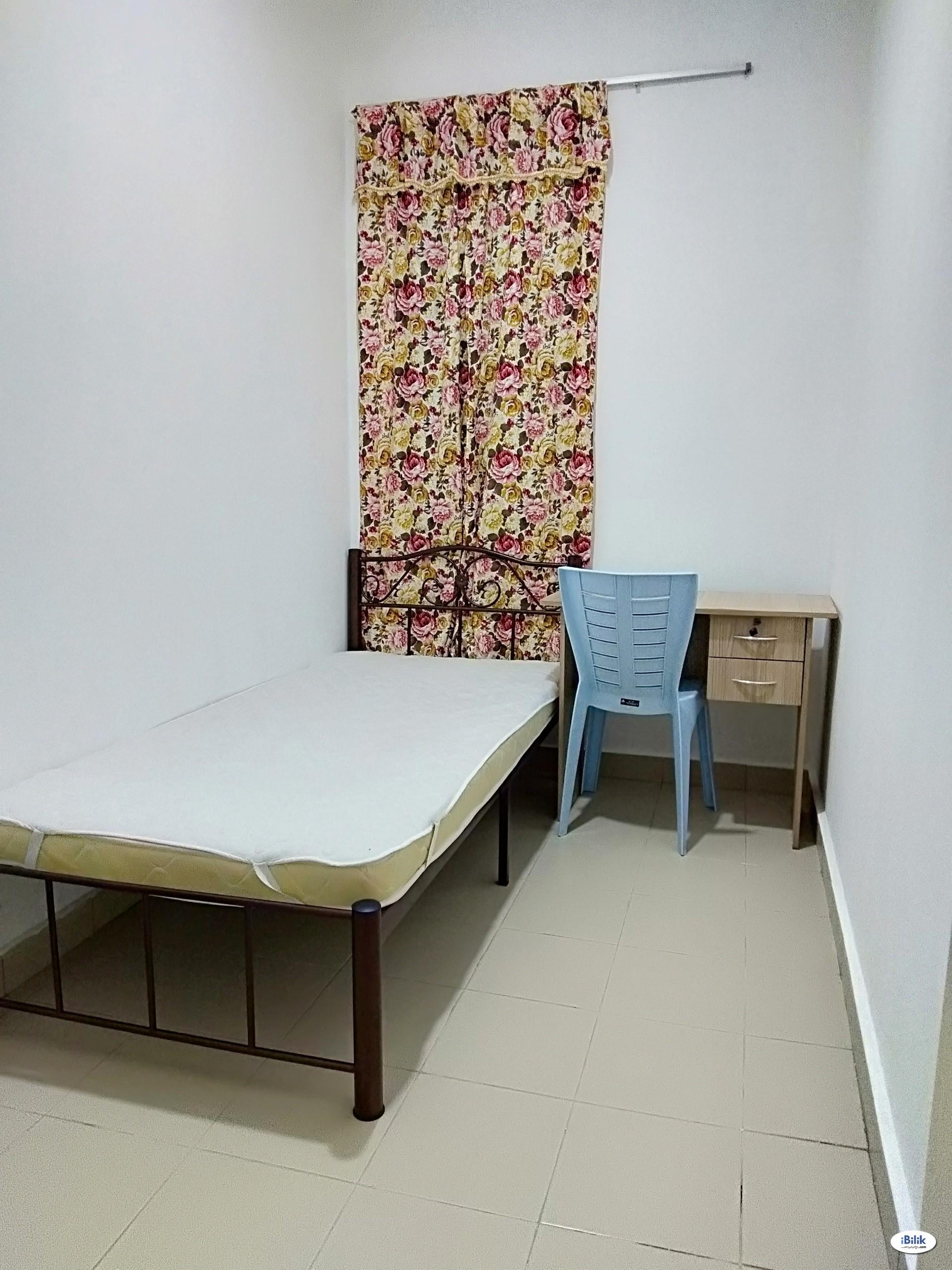Univ 360 Place Seri Kembangan Single Room For Rent, Nearby Taman Bukit Serdang Jaya, The Mines