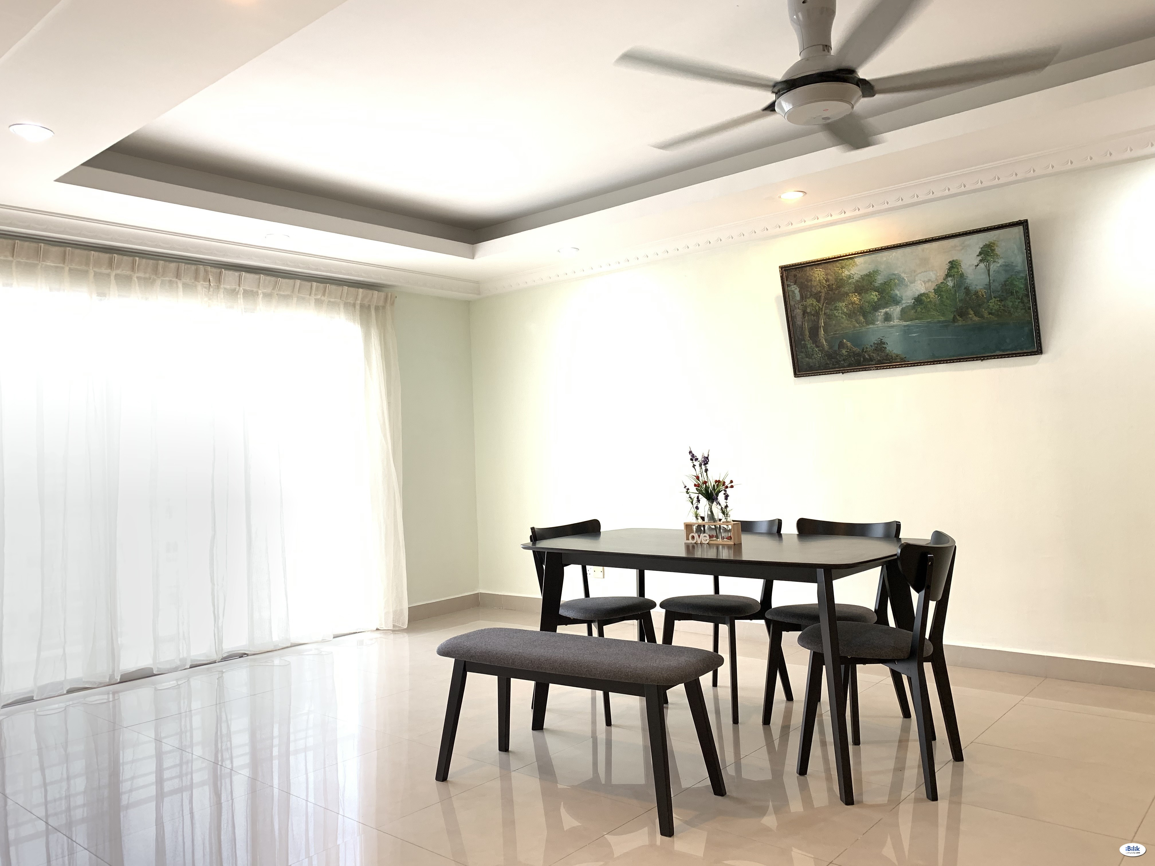 Single Room at Sea View Tower, Butterworth