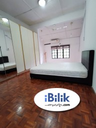 Room Rental in  - Limited Special Promotion Price For MCO Master Room at Taman Mayang, Kelana Jaya