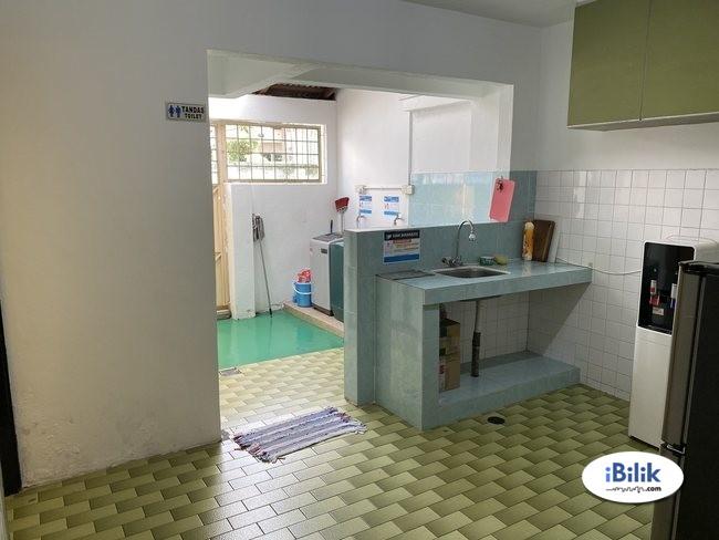 cushy ZERO DEPOSIT-LANDED SINGLE ROOM AT SS15 SUBANG JAYA