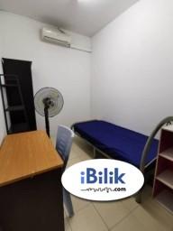 Room Rental in Petaling Jaya - Zero Deposit .. Medium Room near LRT Kelana Jaya
