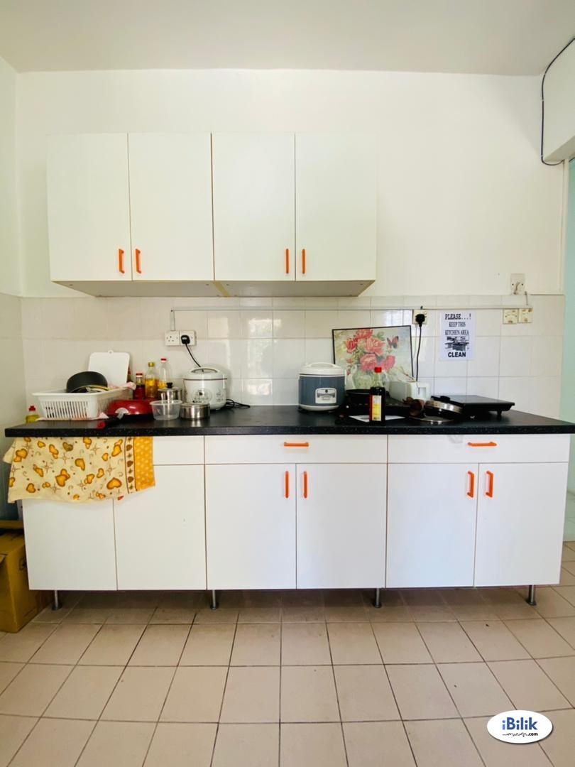 💓Single Room at Bandar Utama  ⭐Near to One Utama , MRT Bandar Utama, 1 Power House , First Avenue , Centre Point , IKEA , MRT Mutiara Damansara , Sur