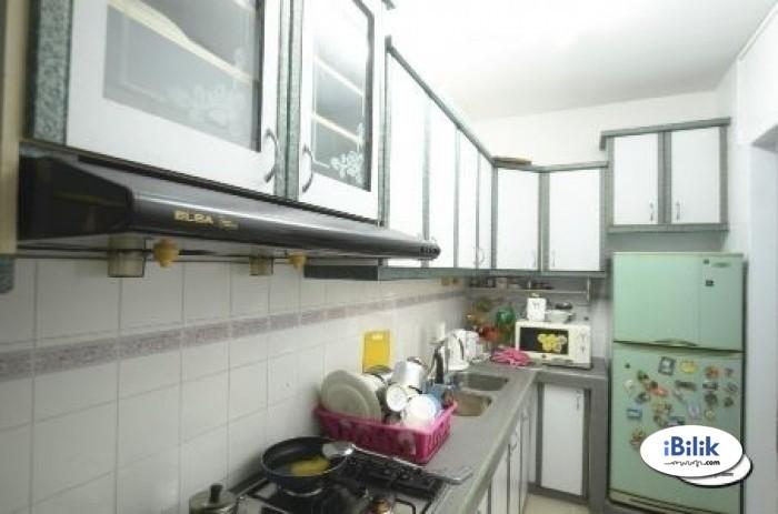 Zero Deposit .. Small Room Can be walking LRT Wawasan