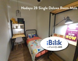 Room Rental in  - ZERO DEPOSIT--EXCLUSIVE FULLY FURNISHED AIRCOND SINGLE ROOM @ SS15!