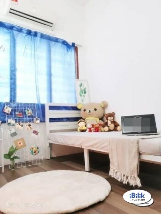 cushy 0% DEPOSIT RENTAL. Medium Room at PJS 10- Bandar Sunway