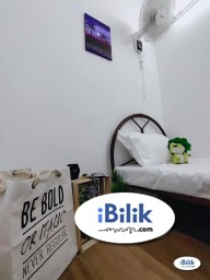 Room Rental in Kuala Lumpur - RENT 1 Month Deposit. Small Room Taman Mutiara Barat, Cheras