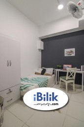 Room Rental in KL City Centre - comfy No Deposit Regalia Residence, Fully Furnished , Cheap Room From RM 650 In KL city, 1 Min To LRT PWTC