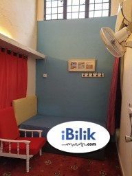 Room Rental in  - Single Room with fully furnish and aircond  for rent @BU11