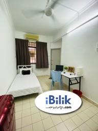 Room Rental in Petaling Jaya - For Rent Zero% Deposit - Medium Room for rent Bandar Utama PJ