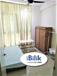 Room Rental in Selangor - 👩 Female unit. Private furnished Medium Room. Wifi & Util included*