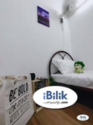 Room Rental in Puchong - comfortable 0% Deposit. Single Room at Taman Wawasan- Pusat Bandar Puchong