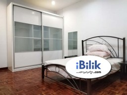 Room Rental in Kuala Lumpur - RENT AirCond Medium Room - NO Deposit Packages - Mutiara Bukit Jalil (walking distance to LRT Station)