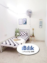 Room Rental in Kuala Lumpur - Small Room - Zero Deposit Packages - Mutiara Bukit Jalil (Walking Distance to LRT Station)