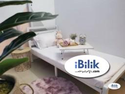 Room Rental in  - cushy 1 Month Deposit. Medium Room Walking distance Taman Mutiara MRT