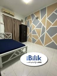 Room Rental in Petaling Jaya - RENT 1 Month Deposit !~ Middle Room at SS7, Kelana Jaya Near Paradigm Mall