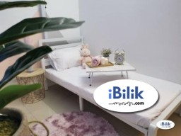 Room Rental in Kuala Lumpur - cushy 1 Month Deposit. Medium Room Walking distance Taman Mutiara MRT
