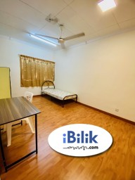 Room Rental in  - 🔥ZERO DEPOSIT Middle Room at BU10 🔥Actual Room Photo 🚶Easy Access to First Avenue, One Utama, MRT, Centrepoint, First City UC, Merchant Square