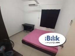 Room Rental in Selangor - The Arc Complete Bilik Room Medium FREE wifi util Cyberjaya near MMU CUCMS IBM Dpulze The Arc!