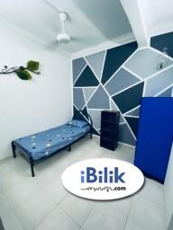 Room Rental in Petaling Jaya - Comfort !! Short Term are Welcome !! Single Room at BU11, Bandar Utama with WIFI