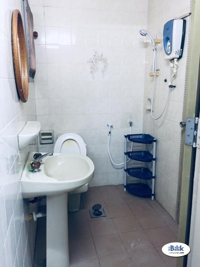 Zero Deposit. Room for rent Cheras. Newly Refurbished Unit