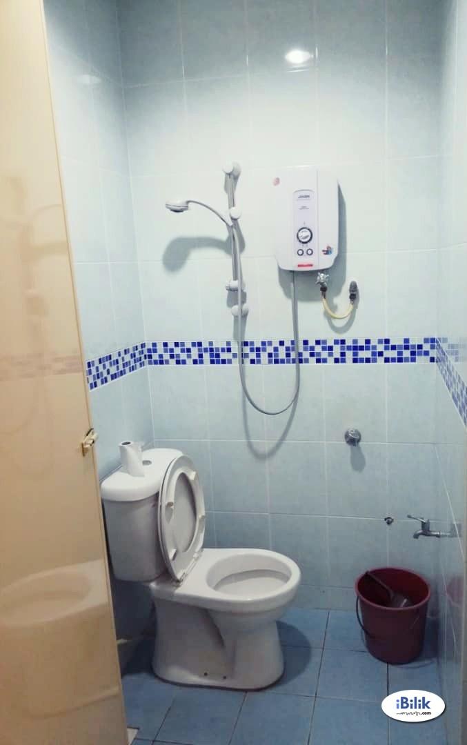comfortable ZERO DEPOSIT-LANDED SINGLE ROOM AT SS15 SUBANG JAYA