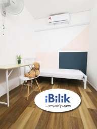 Room Rental in Malaysia - cushy Middle Room at TTDI- Kuala Lumpur