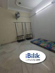 Room Rental in Petaling Jaya - Available now single room for rent- jalan bu 2/6- bandar utama