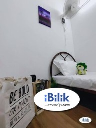 Room Rental in Puchong - RENT 0% Deposit. Single Room at Taman Wawasan- Pusat Bandar Puchong