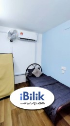 Room Rental in Kuala Lumpur - comfy RM1 Rental for 2ND Month ✨ Single room for rent at taman maluri!