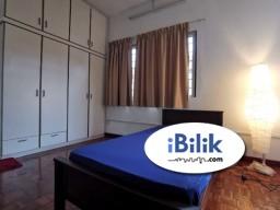 Room Rental in Petaling Jaya - Comfort 0% DEPOSIT ~ Medium Room for rent BU7, Bandar Utama PJ