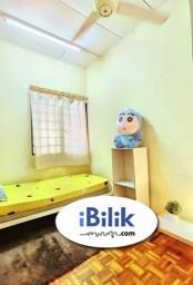 Room Rental in Petaling Jaya - comfortable Single Room Zero Deposit Weekly Cleaning @ BU10