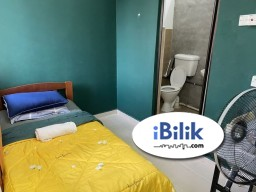 Room Rental in  - cushy ZERO DEPOSIT -EXCLUSIVE FULLY FURNISHED AIRCOND SINGLE ROOM @ SS15!
