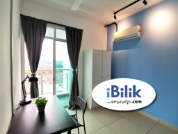 Room Rental in Malaysia - 🏠Fully Furnished Single Room with Balcony at Arena Residences, Bayan Baru🏠