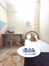 Room Rental in Selangor - comfortable 1 Month Deposit ~ Fully Furnished Single Room at Bandar Utama !!