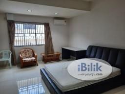 Room Rental in Johor - Extended Master Room with Private Toilet at Taman Johor Jaya, Johor Bahru