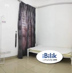 Room Rental in Selangor - RM1 Rental ❌Utility Deposit Single Room at Setia Alam, Top Glove Tower, Forum 19 Shah Alam