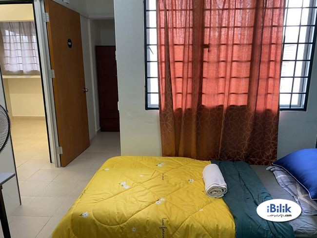 ZERO DEPOSIT-EXCLUSIVE FULLY FURNISHED AIRCOND SINGLE ROOM @ SS15!