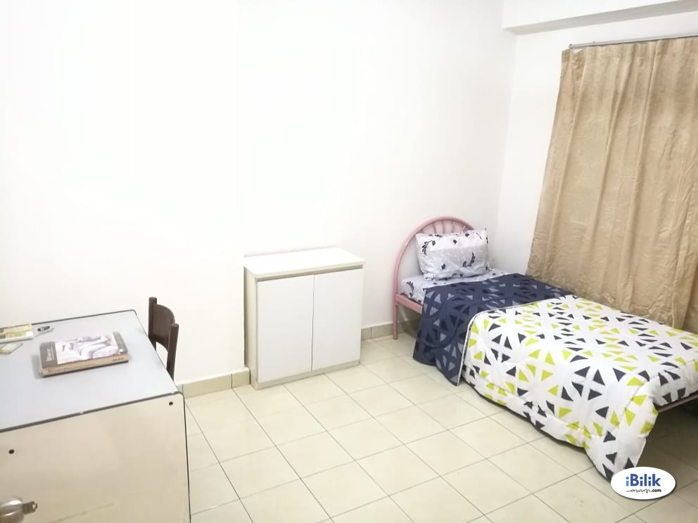 RM100 Off for 3 months - 3 mins walk to LRT - Vista B Middle Rooms