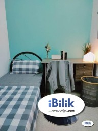 Room Rental in Malaysia - Low Deposit 🛌 Single Room Located near Taman Esplanad, Bukit Jalil KL