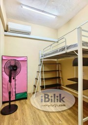 Room Rental in Petaling Jaya - 0️⃣Zero Deposit!!RM400 ONLY✨✨ Nice hostel room for rent at PJ Kelana Jaya, 5min walking to LRT Kelana Jaya Station