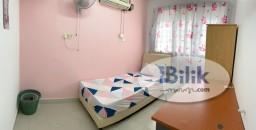 Room Rental in  - cushy NO DEPOSIT .. FEMALE UNIT SINGLE BEDROOM IN SS15 SUBANG JAYA