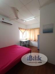 Room Rental in Petaling Jaya - 1 MONTH FREE STAY❤️ Middle Room at Taman Megah, Kelana Jaya/ SEAPARK/ DAMANSARA JAYA
